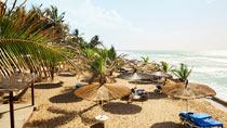 Kairaba Beach - ett av våra omtyckta romantiska hotell.