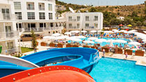 All Inclusive på hotell Bodrum Beach Resort.