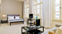 H10 Berlin Kudamm - familjehotell med bra barnrabatter.