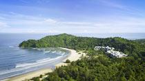 Koppla av på ett spahotell - Shangri La Rasa Ria Resort.