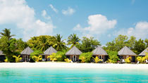 All Inclusive på hotell Kuredu Island Resort.