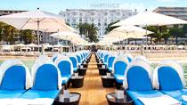 Koppla av på ett spahotell - Grand Hyatt Cannes Martinez .