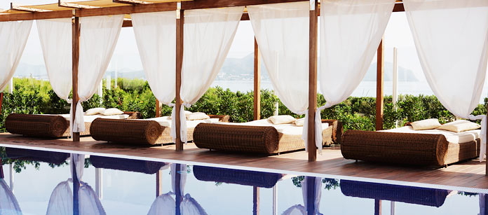 Barnvänliga hotell Viva Bahia.