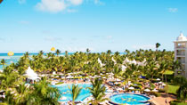 All Inclusive på hotell Riu Palace Punta Cana.