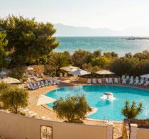 Barnvänliga hotell Waterman Supetrus Resort.