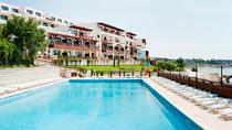Barnvänliga hotell White Lagoon Beach Resort.