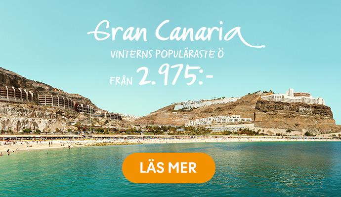 Gran Canaria fr. 2.975:-