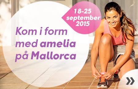 Kom i form med Amelia på Mallorca