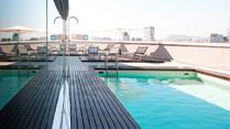 Cityhotell med pool