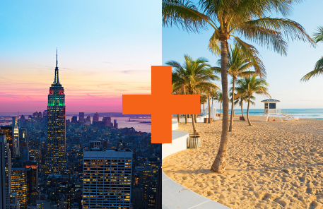 Florida + New York?