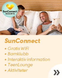 SunConnect Resorts – familjehotell med gratis WiFi
