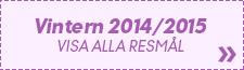 Resor vintern 2014/2015