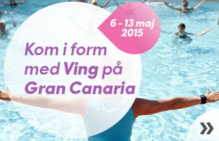 Kom i form med Ving på Gran Canaria