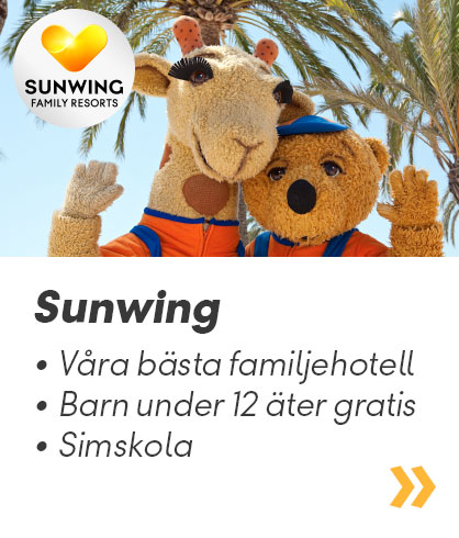 Sunwing Family Resorts – Vings eget familjeparadis