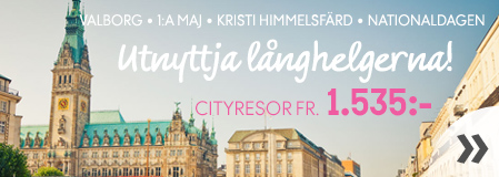 City- och weekendresor