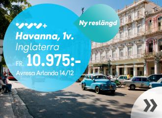Havanna 1 vecka