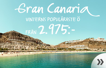 Kanarieöarna – fr. 2.975:-