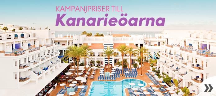 Kampanjpriser till Kanarieöarna