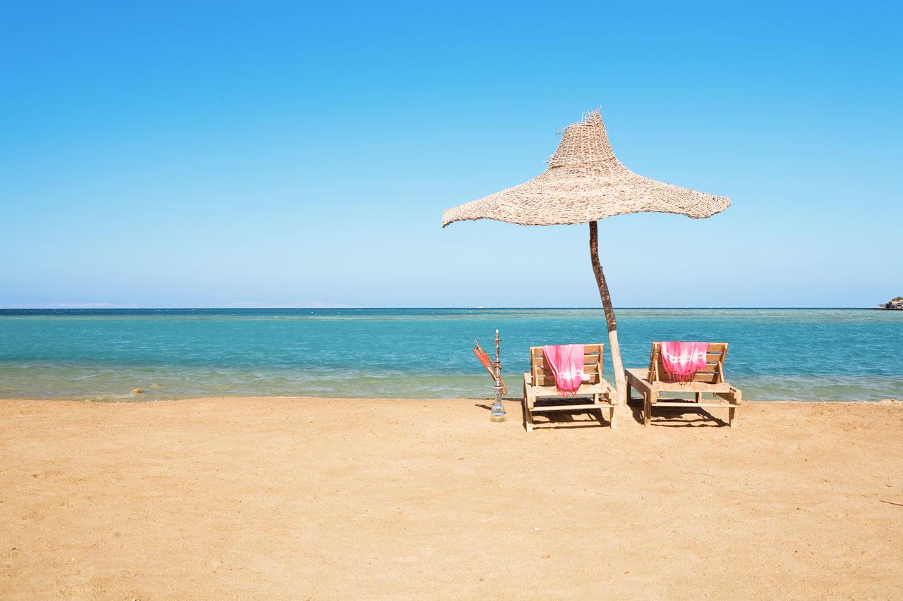 Egypten - Hurghada, Paradise Beach
