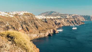Santorini, Mykonos, Aten
