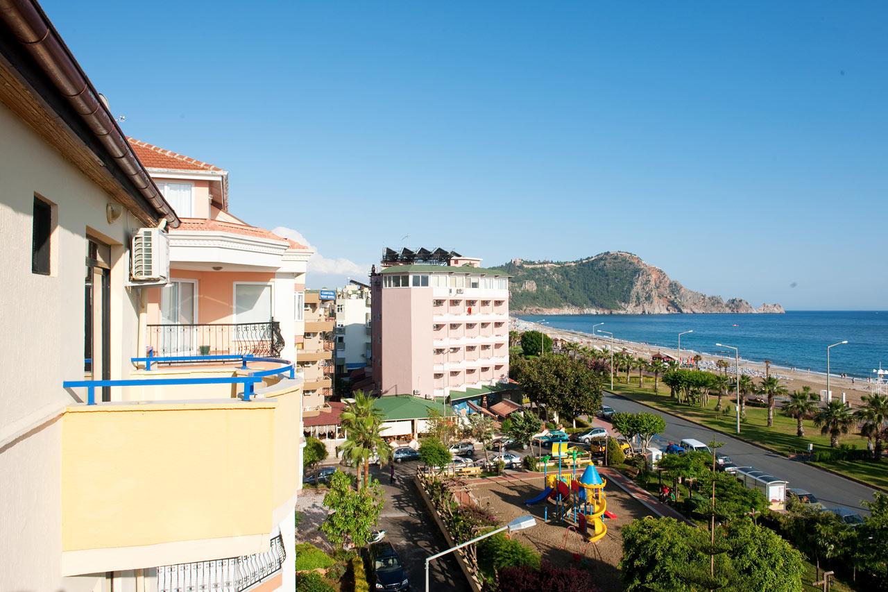 Belle ocean apart hotel i alanya boka hotell hos ving idag for Appart hotel mediterranee