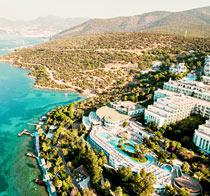 Barnvänliga hotell Bodrum Holiday Resort & Spa.