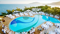All Inclusive på hotell Club Med Bodrum Palmiye.