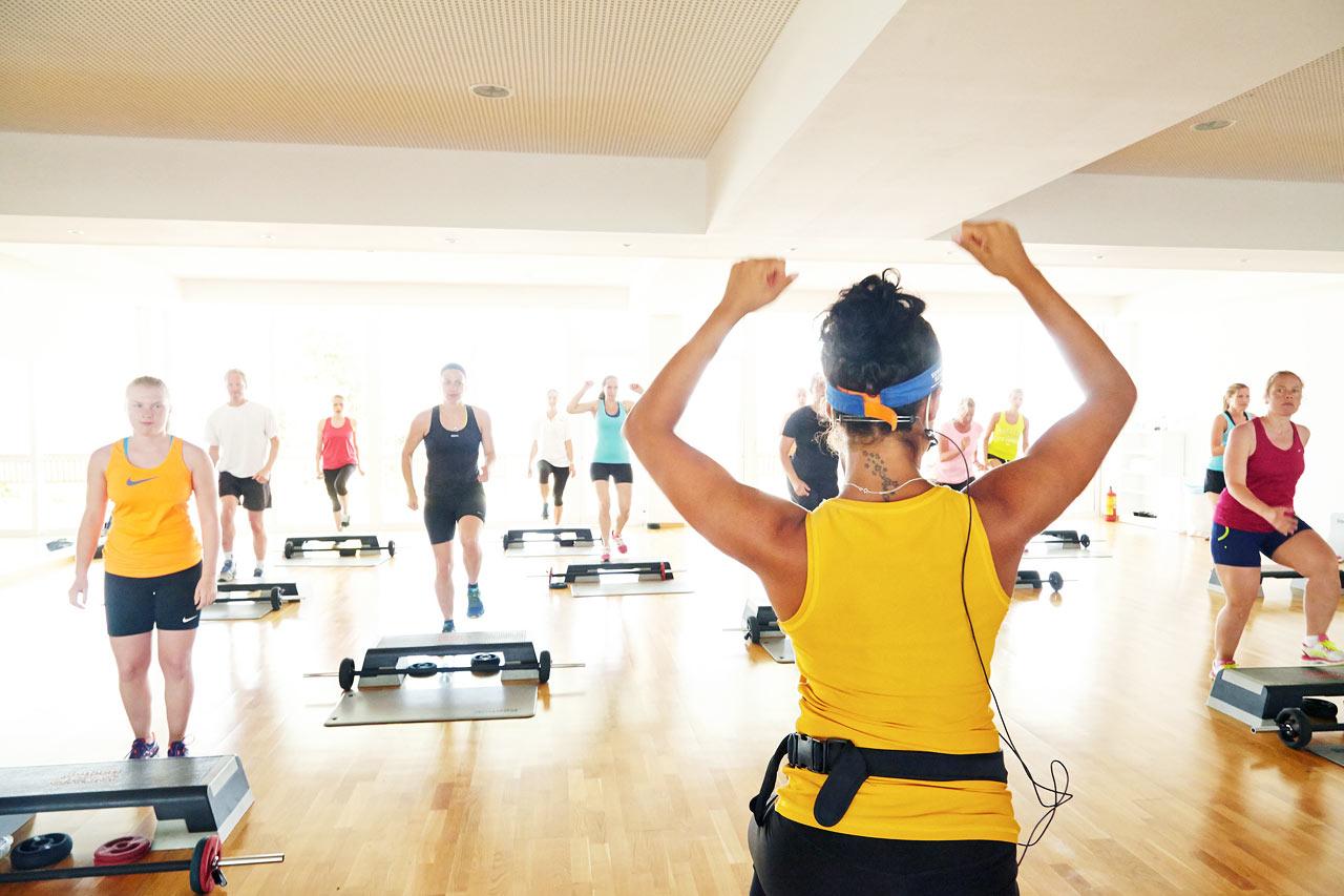 Alla träningsklasser leds av SATS ELIXIA-utbildad personal.