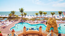 Pink Shell Beach Resort - familjehotell med bra barnrabatter.