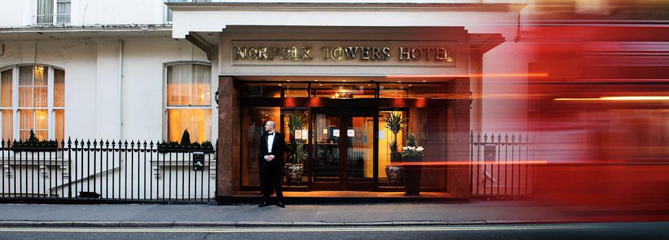 Boka Hotell Norfolk Towers Paddington Hotel I London
