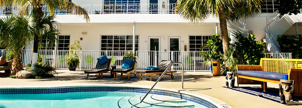 Tradewinds Apartment Hotel, Miami Beach, Florida, USA