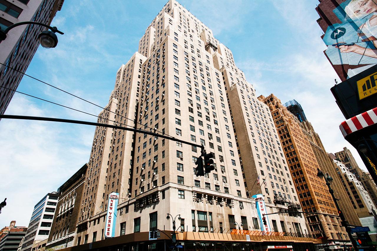 Se Bilder Fr 229 N V 229 Rt Hotell Wyndham New Yorker Hotel I New York