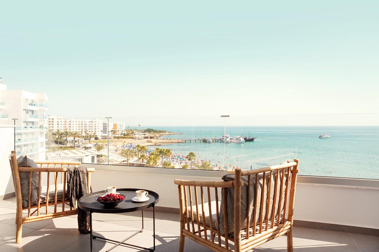 Classic Room 1 rum, balkong med havsutsikt