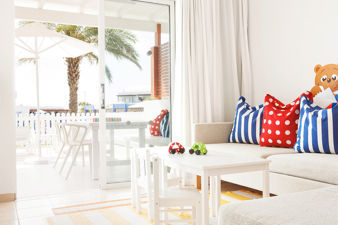 Sunwing Kallithea Beach - Tvårumslägenhet Lollo & Bernie Suite, Helios.