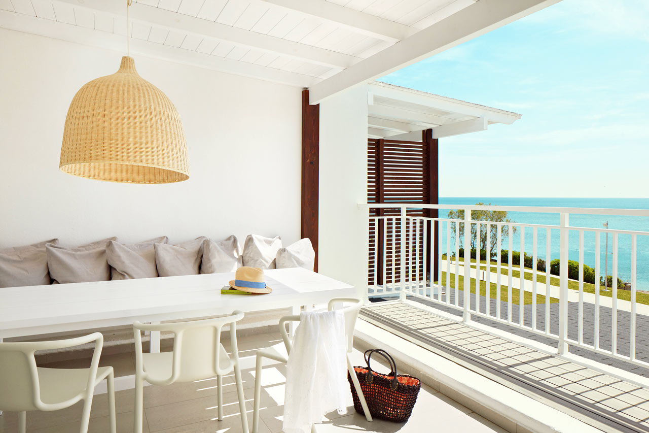 Sunwing Kallithea Beach - Trerumslägenhet Royal Lounge Suite, Triton.