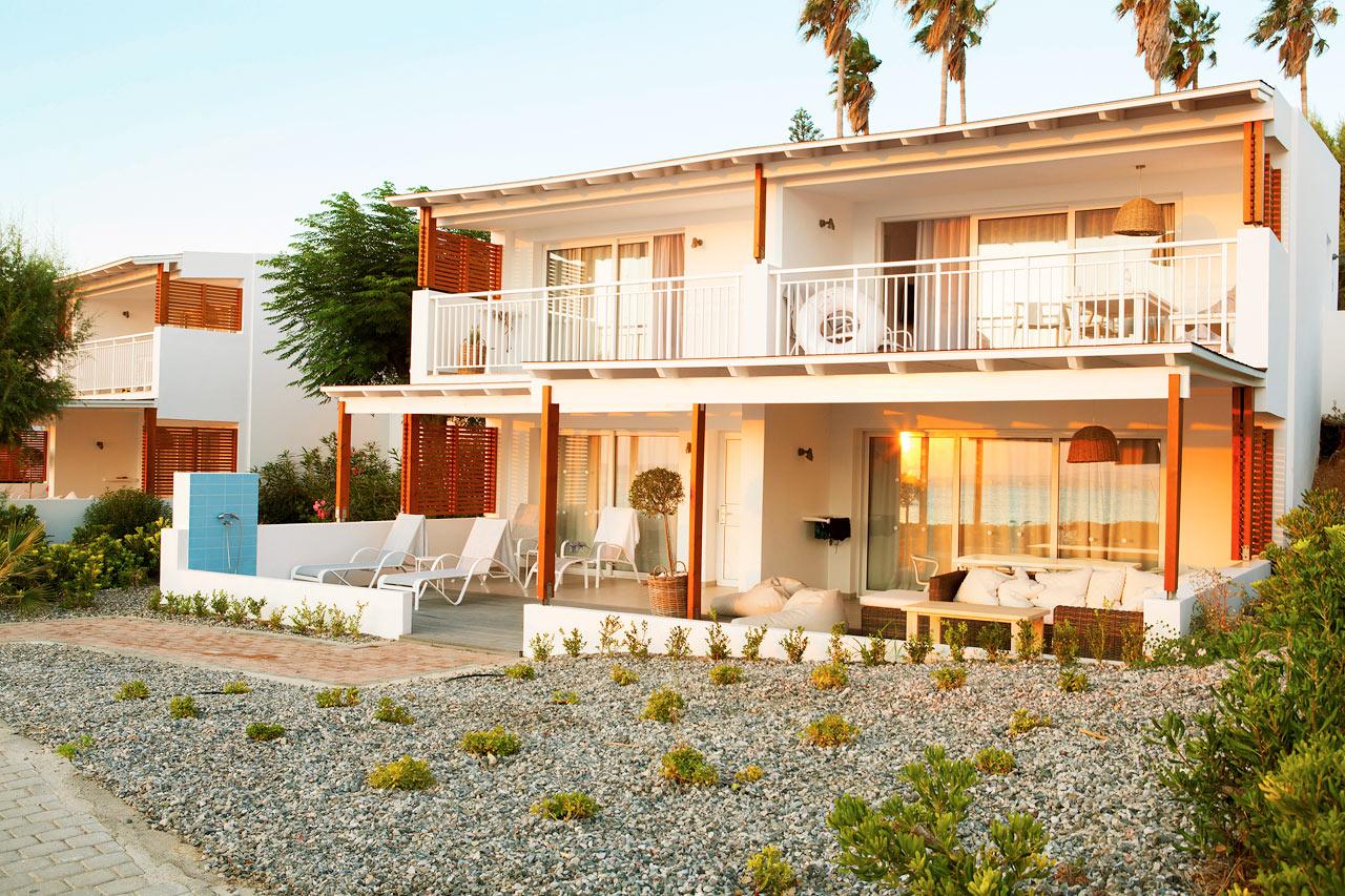 Sunwing Kallithea Beach - Royal Family Suites närmast havet, i Poseidon.