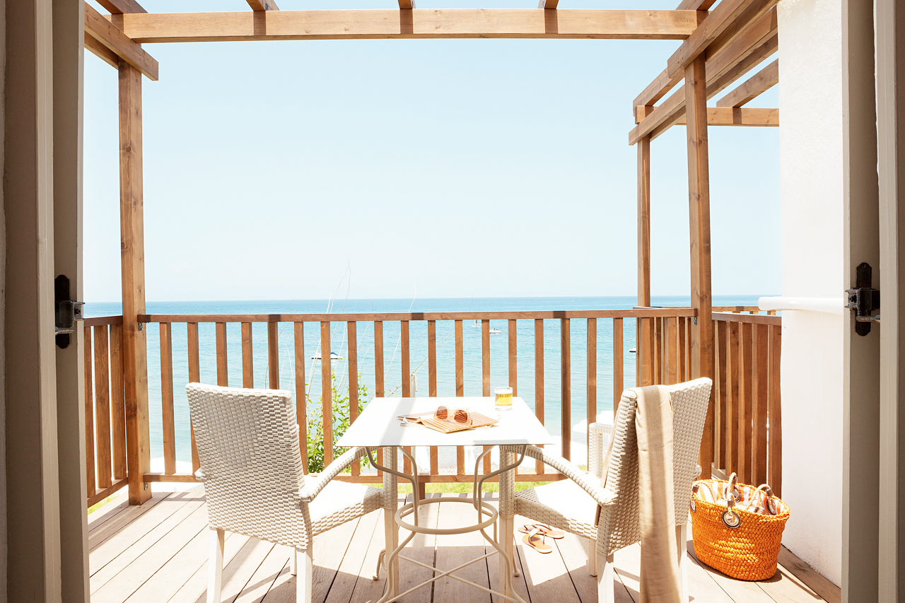 Sunprime Miramare Beach - Junior Suite, balkong med havsutsikt