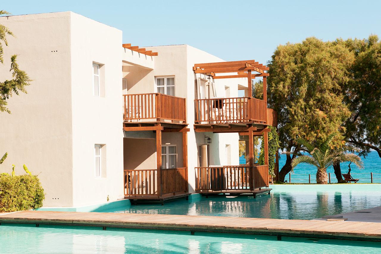 Sunprime Miramare Beach - Hotellet erbjuder sviter mot den konstgjorda lagunen.
