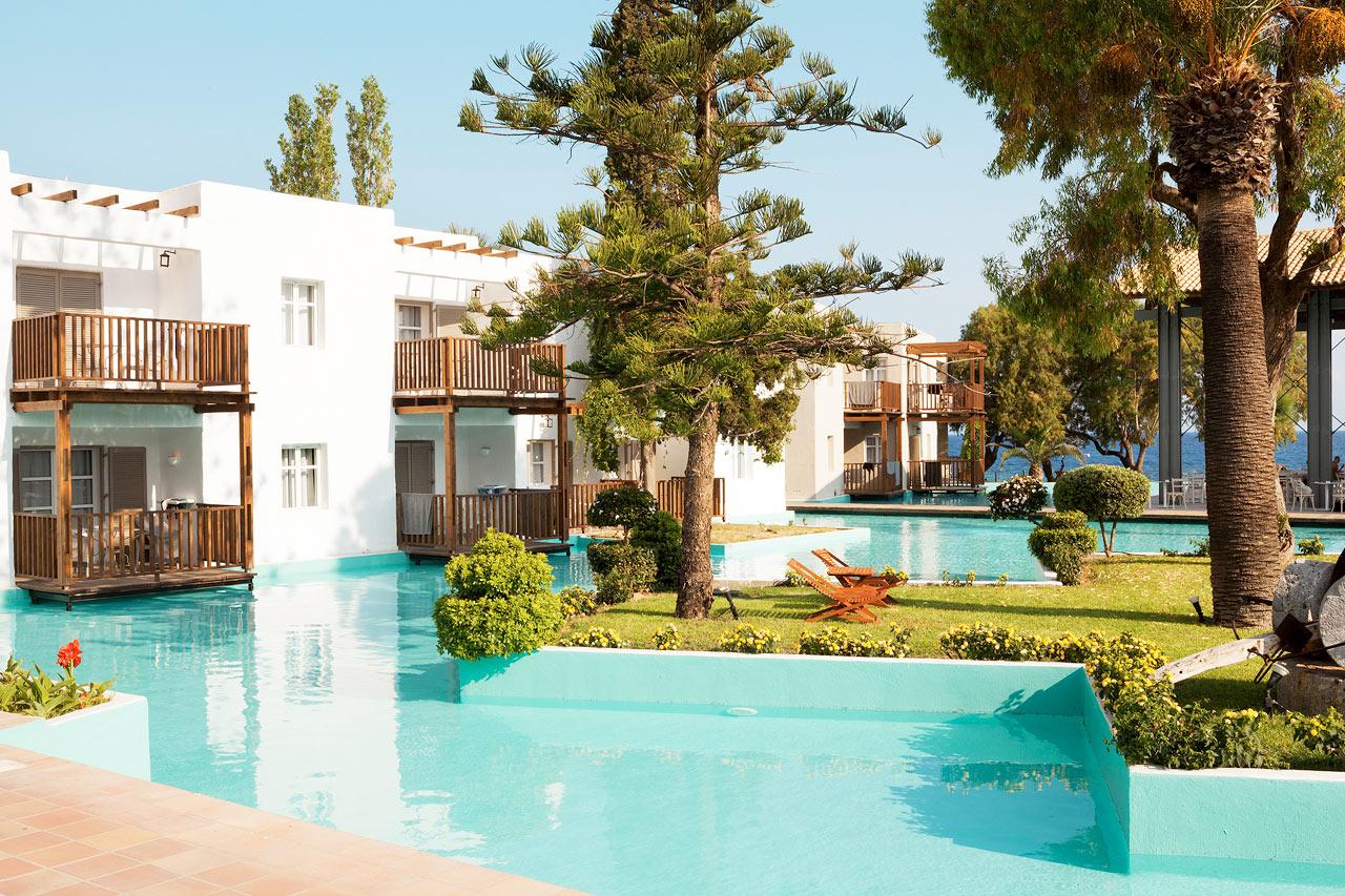 Sunprime Miramare Beach - Classic Suite eller Junior Suite med balkong mot lagunen