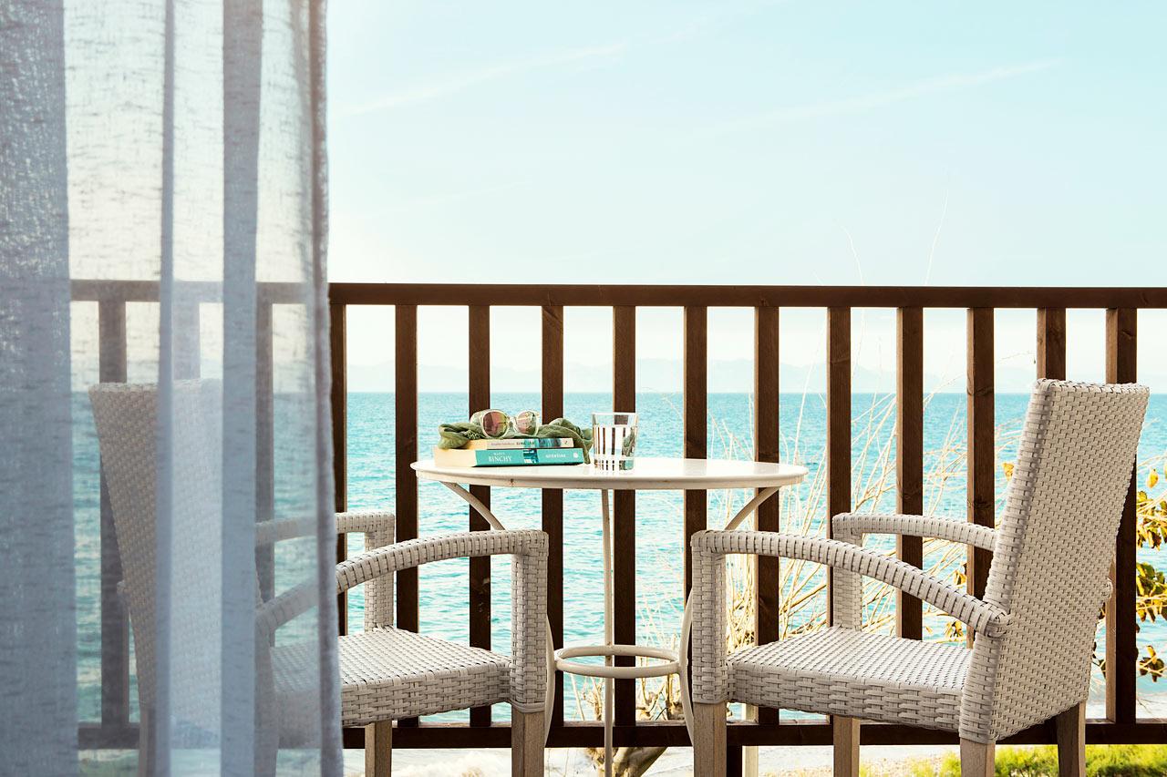 Sunprime Miramare Beach - Prime Suite, balkong med havsutsikt