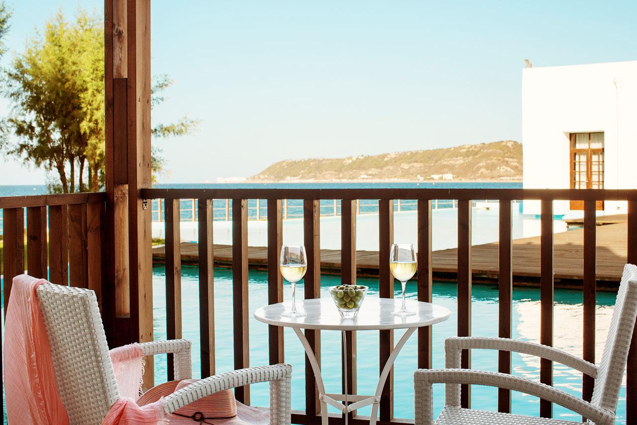 Sunprime Miramare Beach - Classic Suite, balkong mot lagun