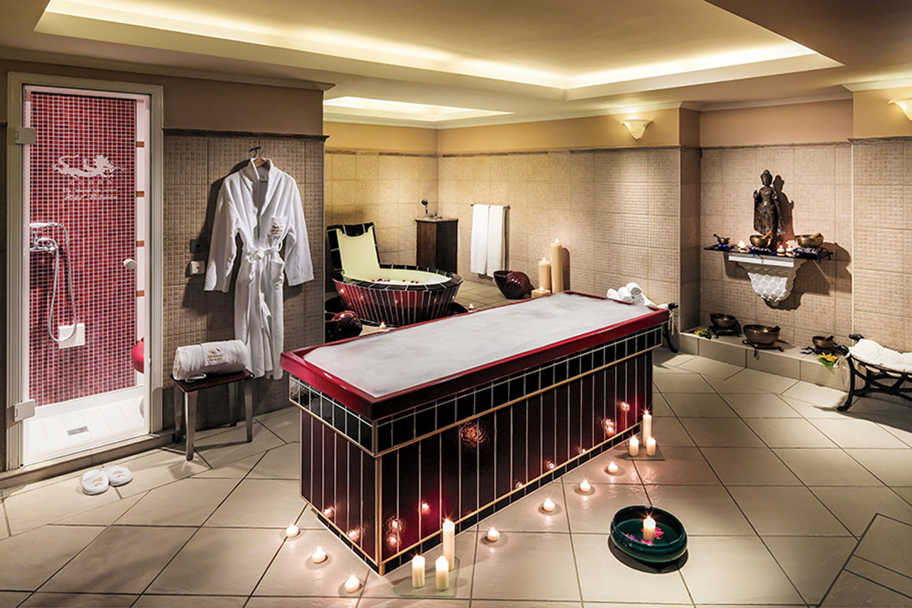 Hotellets rogivande spa