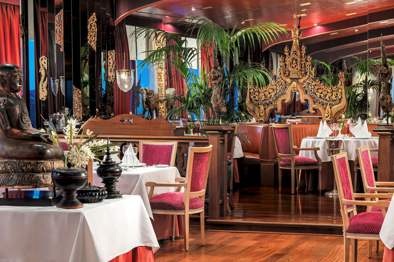 The Oriental, asiatisk restaurang