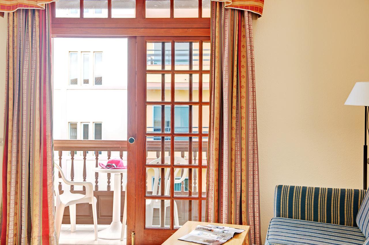 Tvårumslägenhet med balkong