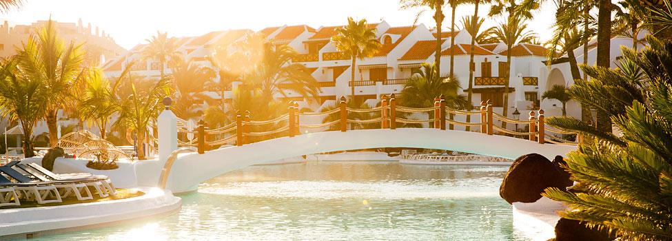 Parque Santiago 3, Playa de las Américas, Teneriffa, Kanarieöarna