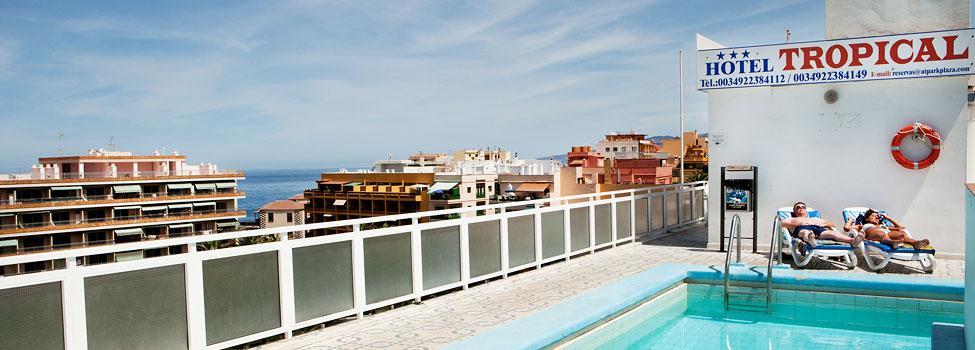 Tropical i puerto de la cruz hotell med uppv rmd pool - Hotel ving puerto de la cruz ...