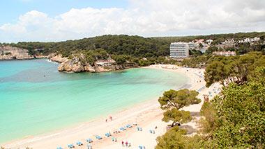 Cala Galdana, Spanien