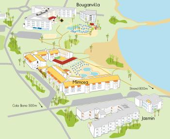 Resortkarta