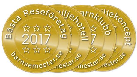 Stora Barnsemesterpriset 2017