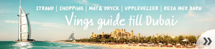 Vings stora guide till Dubai - läs mer!
